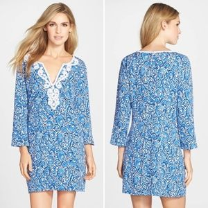 [Lilly Pulitzer] Julianna Embroidered Tunic Dress